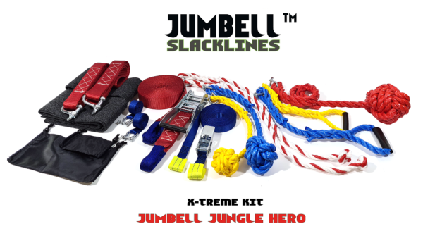 Jumbell X-TREME kit buitenspeelgoed set