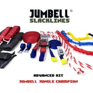 Jumbell ADVANCED kit buitenspeelgoed set